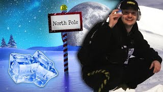 Flying To The North Pole For Some Ice For A Drink