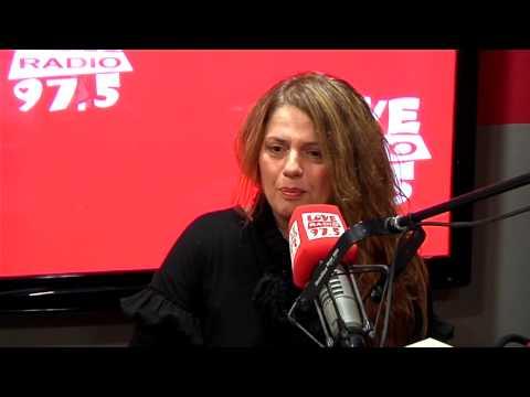 Η Ελένη Τσαλιγοπούλου στο Studio του Love Radio 97,5