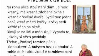 Урок чешского языка онлайн часть 1
