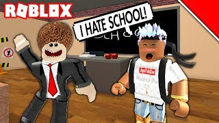 ROBLOX MY FIRST DAY BACK IN SCHOOL GONE WRONG!