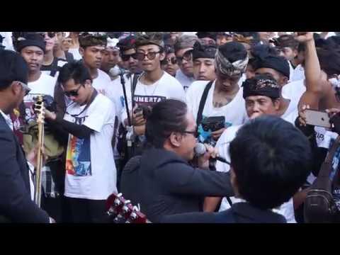 Scared Of Bums - Wakil Rakyat (Cover Iwan Fals) - Aksi Bali Tolak Reklamasi, Denpasar 30 - 4 - 2019