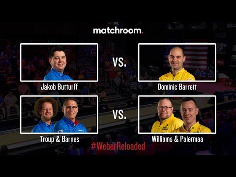 2019 Weber Cup | Butturff vs. Barrett & Troup/Barnes vs. Williams/Palermaa