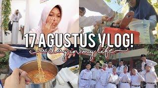 — 17 agustus vlog + grwm! 🇮🇩✨   independence day vlog    indonesia