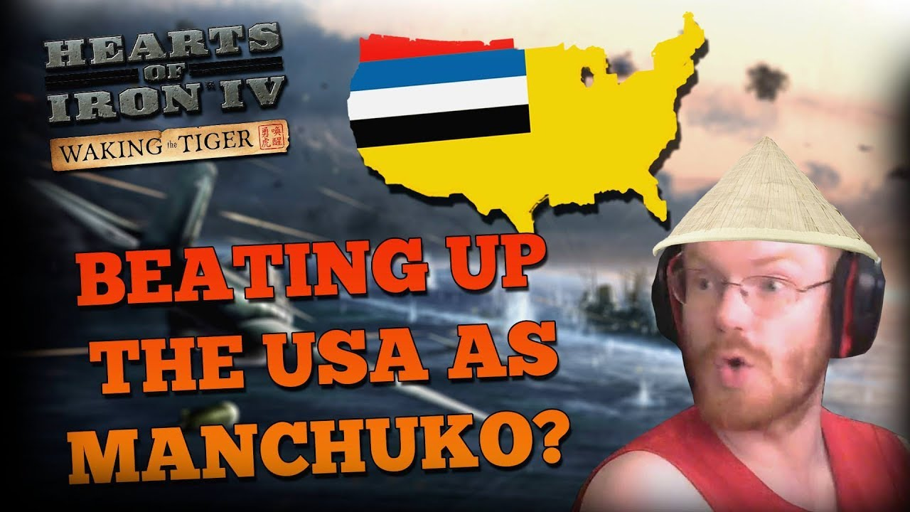 INVADING USA AS MANCHUKUO IN MULTIPLAYER!? - HOI4 Multiplayer