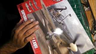 In Box Review: Airfix 1/48 Supermarine Seafire
