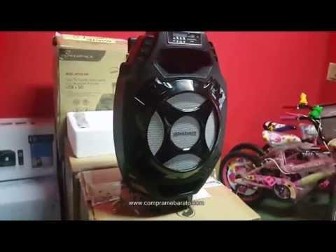 Caja Karaoke Powerpack con Bluetooth