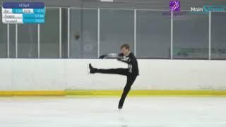 Илья Яблоков короткая программа Кубок Москвы 2020 без звука