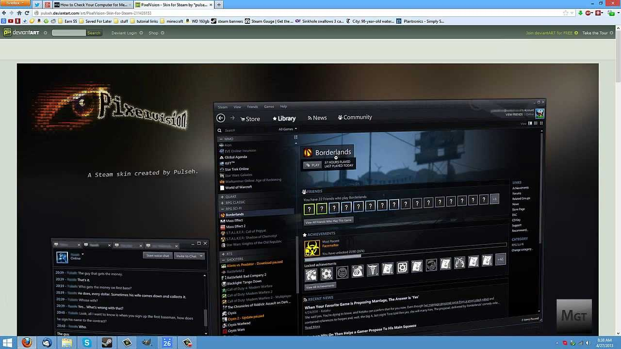 Youtube Channel Art Gaming How To Install Steam S...