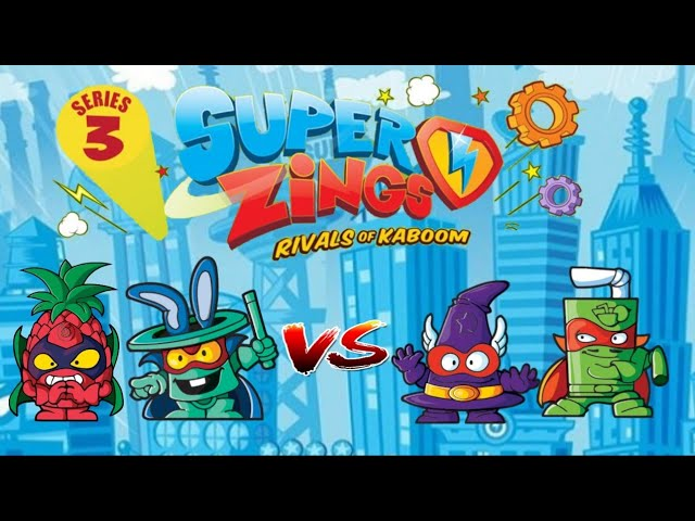 Superzings Series 3 Rivals Youtube
