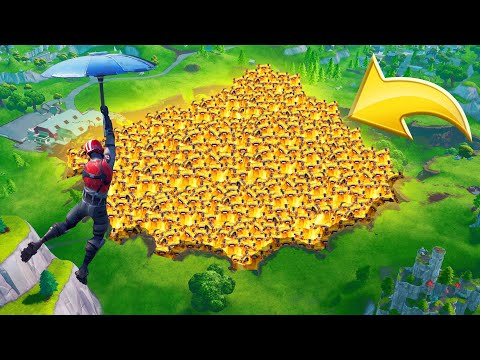 FILLING Dusty Divot WITH 1,000,000 CHESTS! *RECORD*