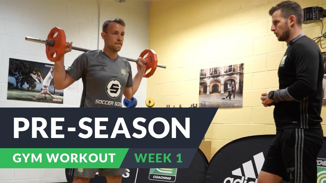 VIDEO: Pre-season gym workout: Week 1 | FourFourTwo