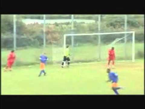 Mark Grace Goalkeeper.wmv