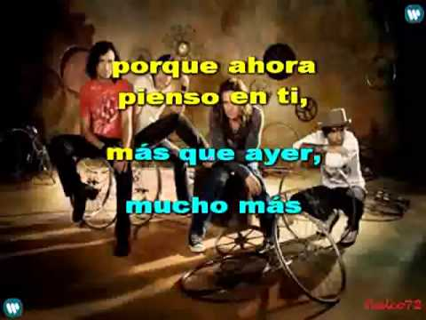 Mana - Hasta Que te Conoci (Karaoke)