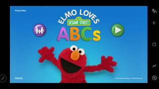 Elmo Loves ABCs Education Game For Kids VWX