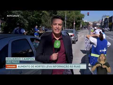 São Paulo inicia ação educativa em grandes vias da cidade