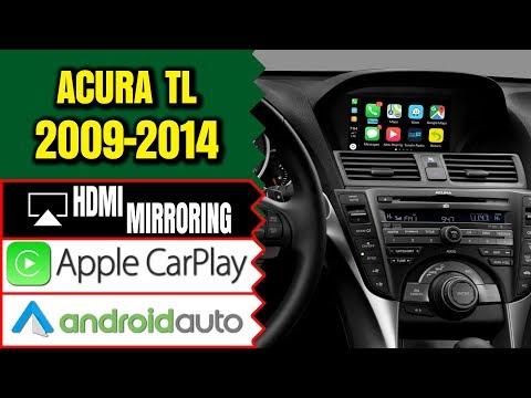 ACURA TL 2009-2014 NAVTOOL NAVIGATION VIDEO INTERFACE, ADD APPLE CAR, SMARTPHONE MIRRORING (CARPLAY)
