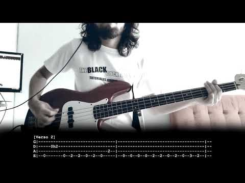 Worst Nites - Foster The People | Bass | Cover | Tutorial | Tabs On Screen