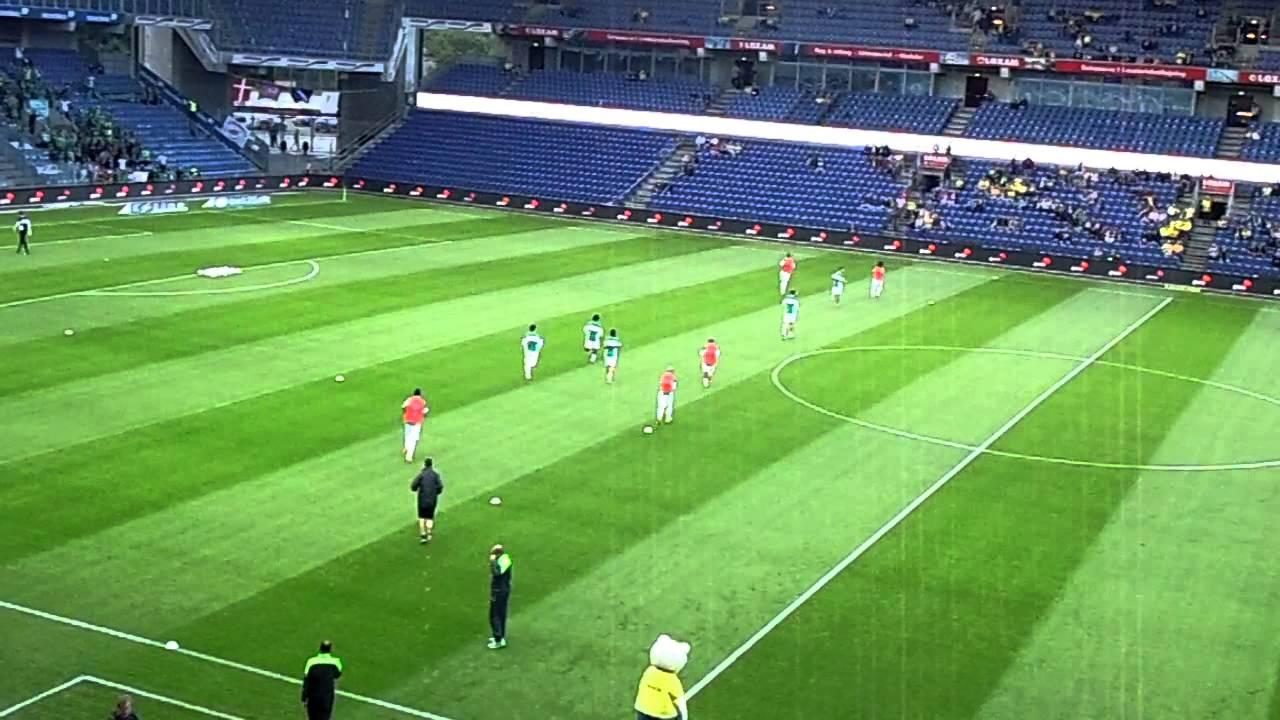 Eisodos omonoias brondby stadium - YouTube