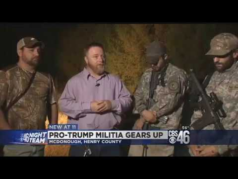 Pro-Trump Militia Numbers Explode in response to 'Unhinged Leftists'