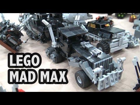 Mad Max: Fury Road Vehicles In LEGO | Bricks Cascade 2019