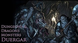 Duergar Also Known As The Gray Dwarf  Dungeons and Dragons Monsters
