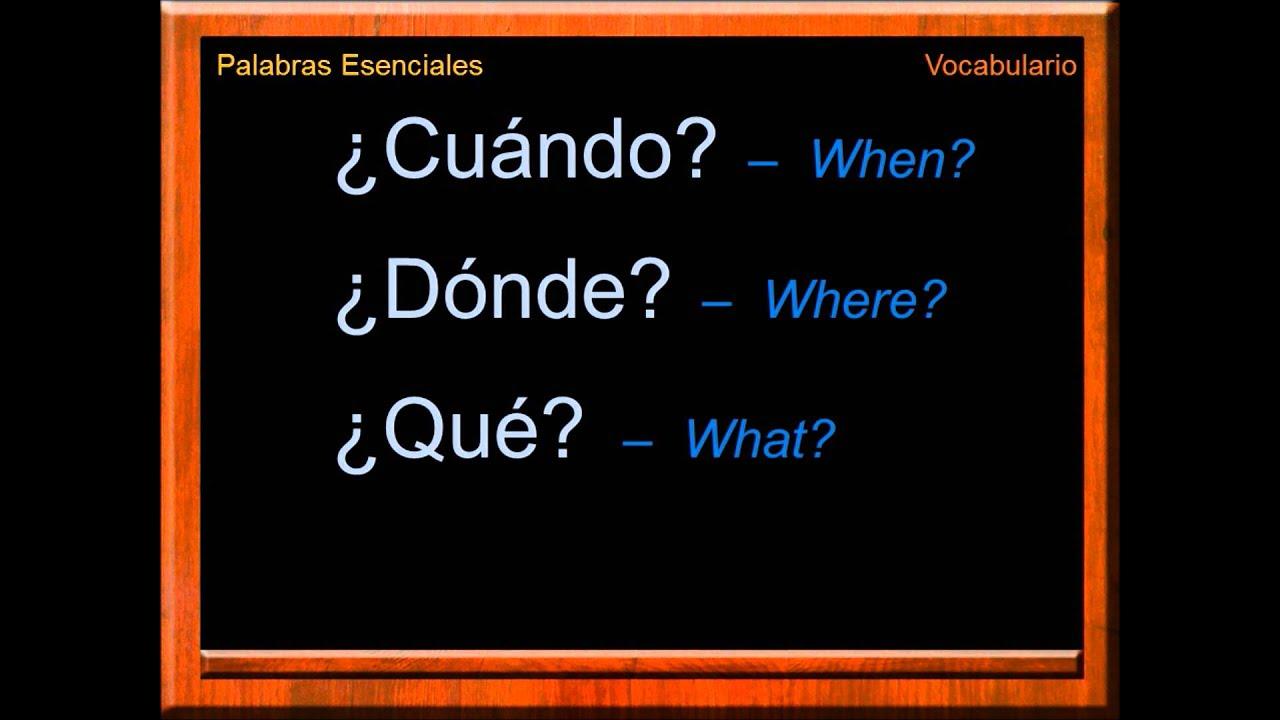 how to speak spanish words youtube