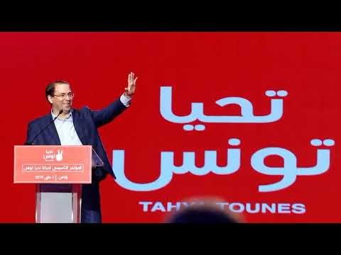 Tunisia PM Chahed elected as leader of new secular party