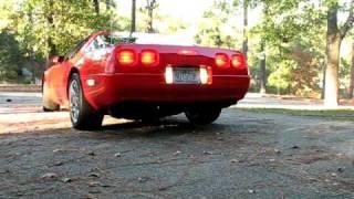 '96 C4 LT1 Corvette with cutouts open