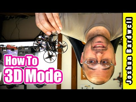 How I Flew This Mobula 7 Upside Down | BETAFLIGHT BLHELI 3D MODE HOW TO SET UP