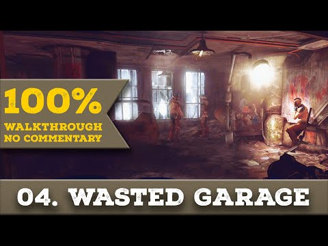 Rage Walkthrough [1440p] (Ultra Nightmare, All Collectibles) part 4 WASTED GARAGE