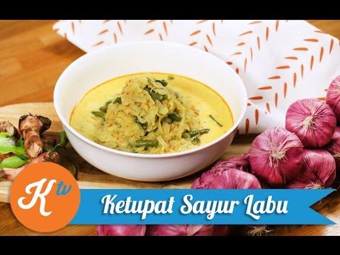 Resep Ketupat Sayur Labu Hijab Chef Youtube