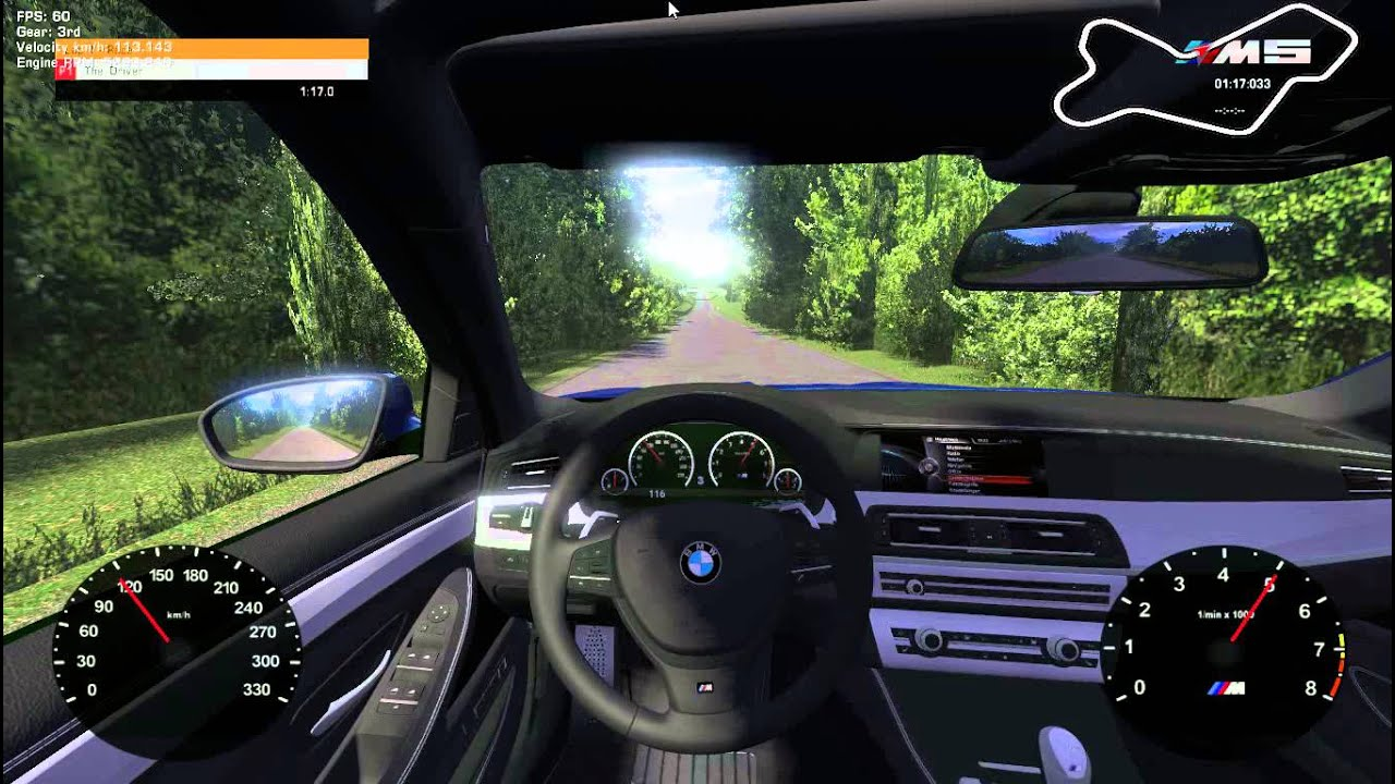 Car Report Free >> Racer - Free Car Simulator - BMW F10 M5 (link to download) - YouTube