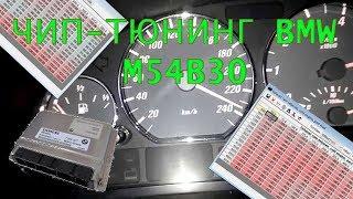 Чип-тюнинг BMW m54b30. Корректировка Vanos и отклик педали газа.