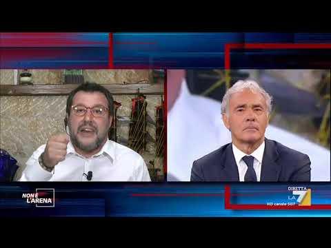 """Europa, Matteo Salvini: """"Berlusconi è d'accordo con Prodi e Renzi, chiedete a lui perché"""""""