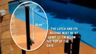 12. Protect Your Pool, Protect Your Kids - Pool Fence -- Gate Latching Device Location