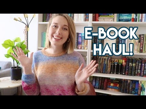 Exciting E-Book Haul!