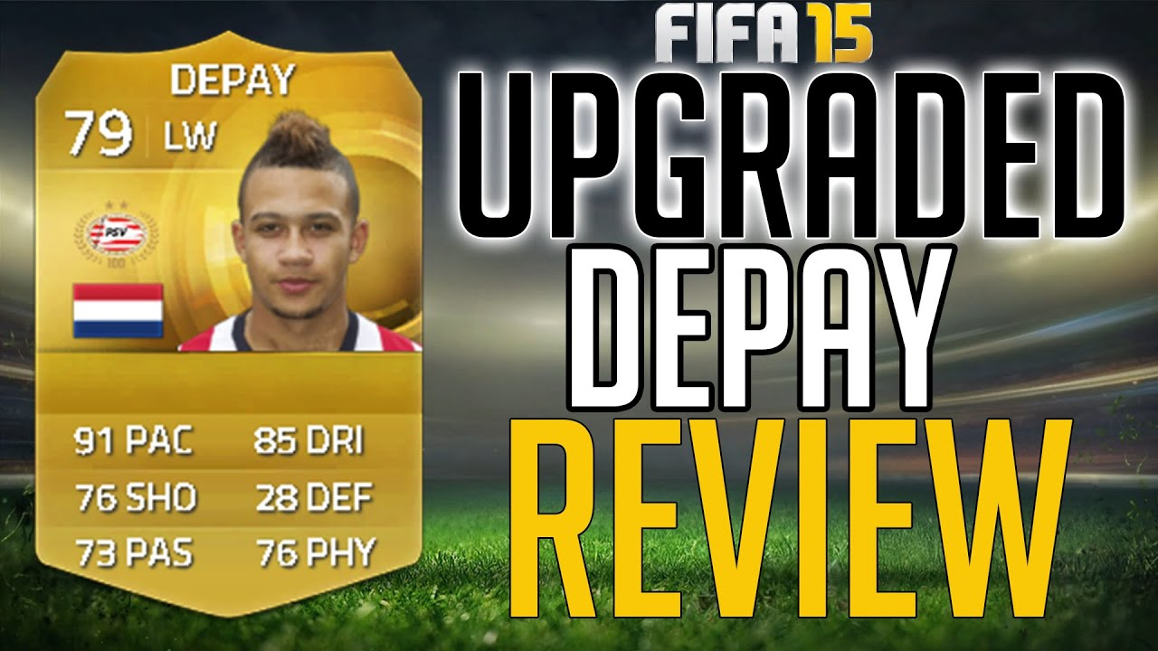fifa 15 upgraded memphis depay review 79 ingame stats. Black Bedroom Furniture Sets. Home Design Ideas