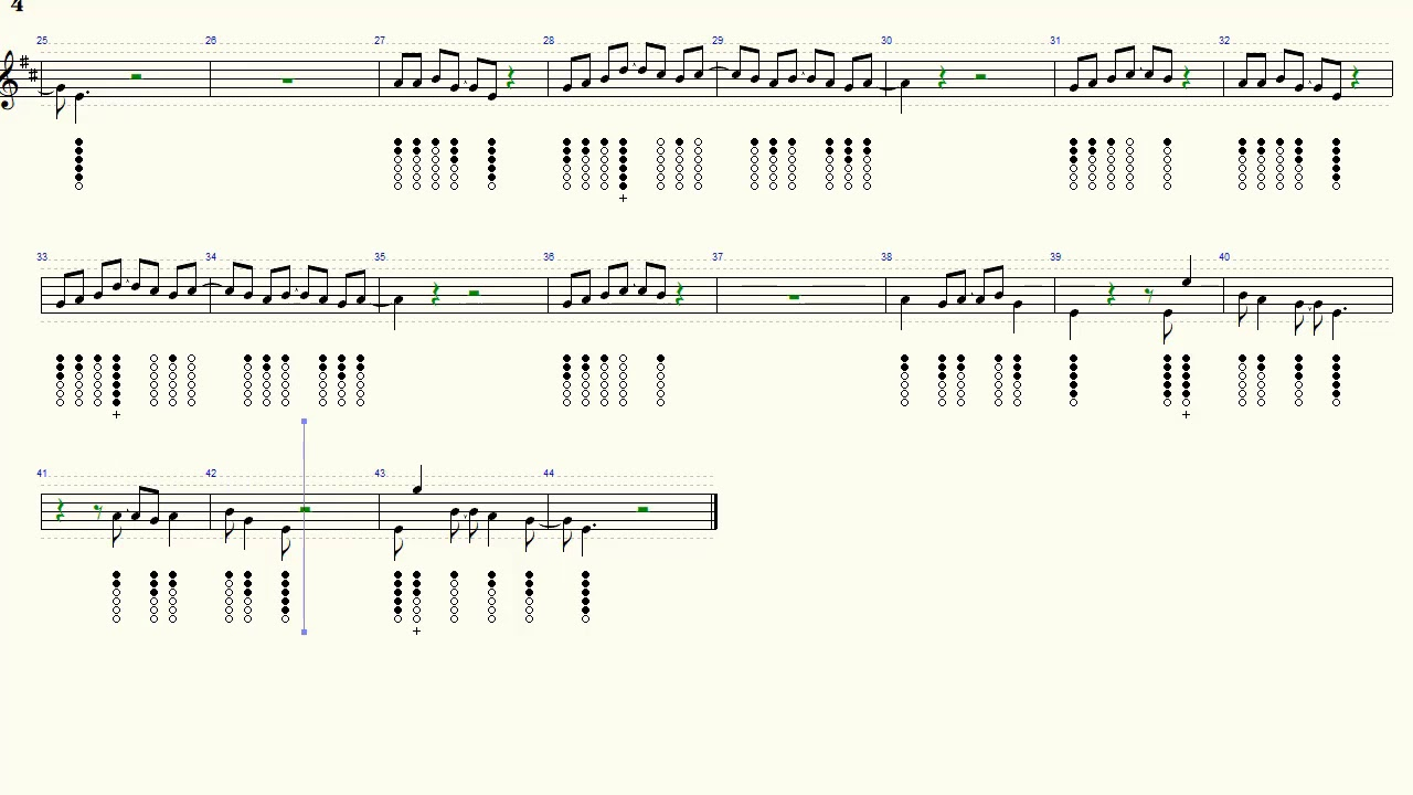 Eleanor Rigby Beatles Cover Tin Whistle Tab Tutorial Youtube