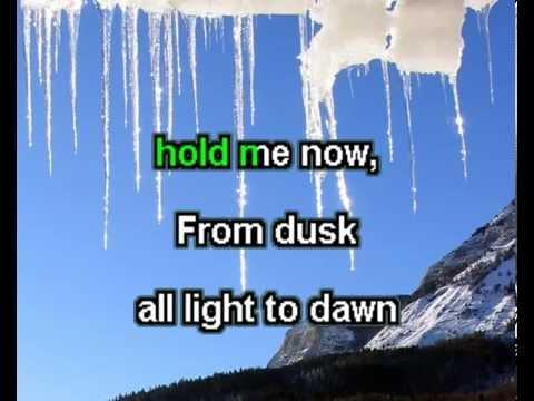 Bài hát Hold me for a while - karaoke