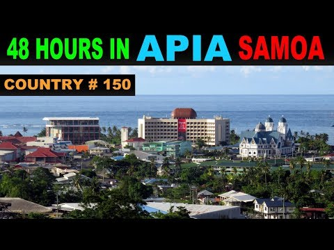 A Tourist's Guide to Apia, Samoa
