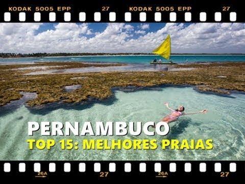 As 15 praias mais bonitas de Pernambuco (2017)