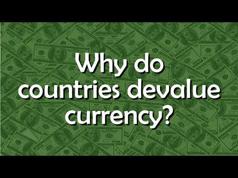 Why Do Countries Devalue Their Currencies? - Tell Me Why