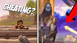 Tir à travers les murs - Est-ce CHEATING? - Fortnite Bataille Royale