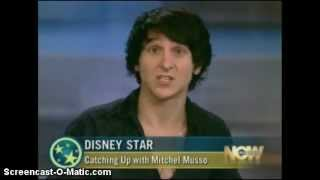Mitchel Musso Gets Crowned