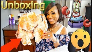 Unboxing The Biggest Crab In The World!!! (Ft. Bloveslife)🦀