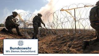 Pioniere der Bundeswehr in Litauen beim Engineer Thunder 2017