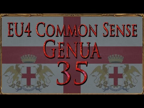 Common Sense Genua 35 - Durchlauchte Republik (Europa Universalis IV / Let's Play / Deutsch)
