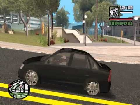 corsa rebaixado GTA SA - carro de malandro Travel Video