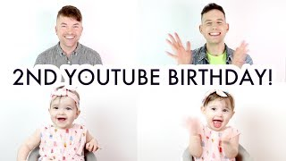 2 Years on Youtube - Happy Birthday to Us!  A Year in Review /// McHusbands