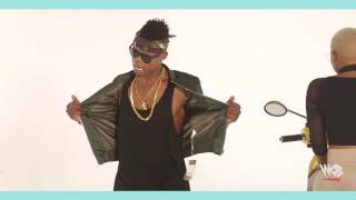DULLY SYKES FT HARMONIZE - INDE Behind the Scene Video PART 3